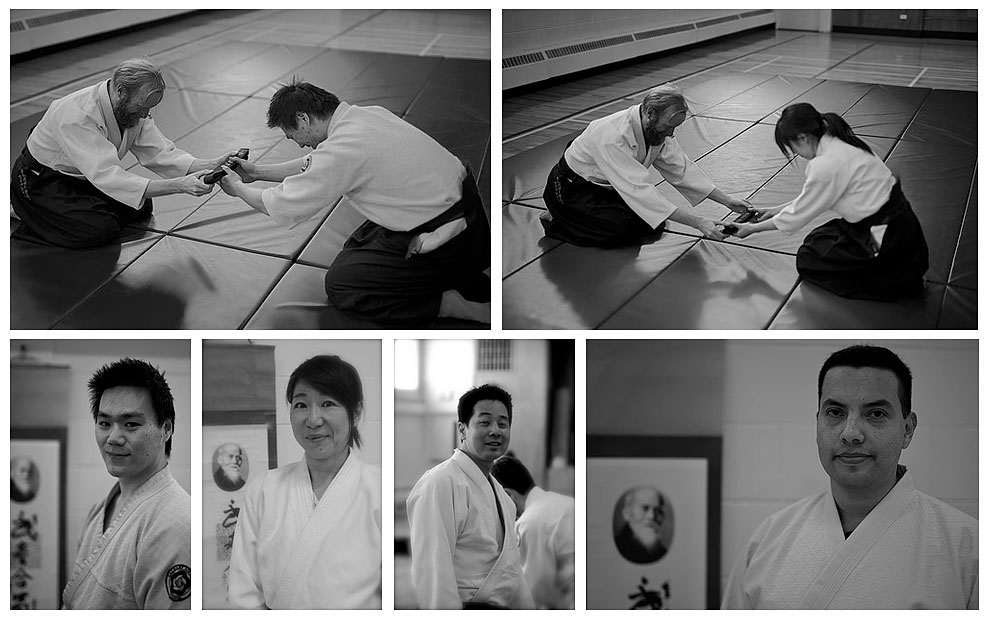 Recent yudansha promotions at Calgary Aikikai