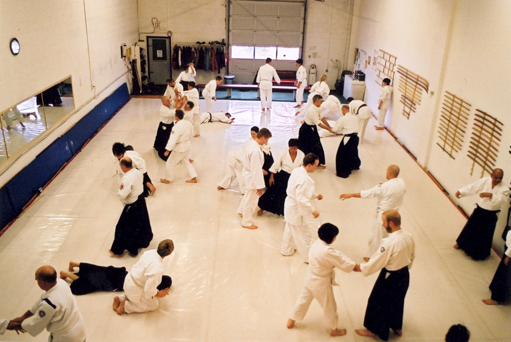 Calgary Aikikai in it old Manchester location