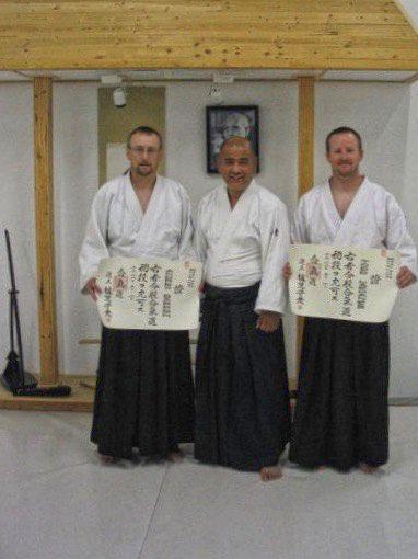 Andrew Sensei, Inaba Sensei, Todd Sensei