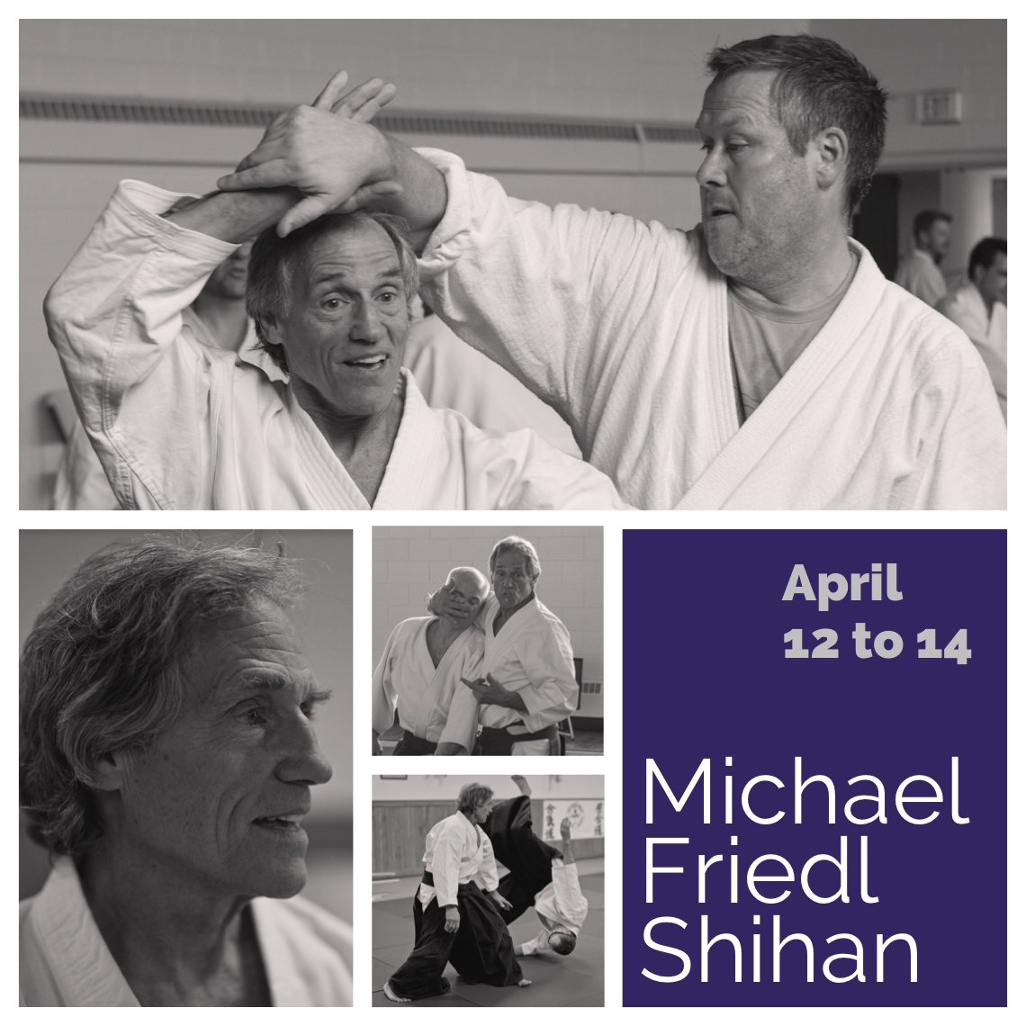 Michael Friedl Shihan teaching aikido